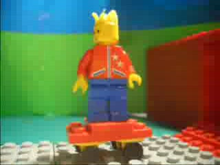 Intro de Los Simpsons con Lego