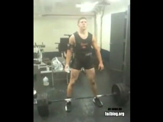 Deadlift FAIL