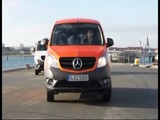 New Mercedes-Benz Citan 2012 driving scenes orange