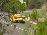 Audi R8 Spyder Driving Video in Yellow Trailer