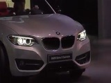 World Premiere BMW Serie 2 Cabriolet at Paris Motor Show 2014