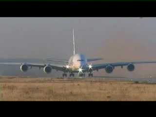 Airbus A380 slow takeoff