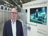 Mercedes-Benz Battery Production plant Kamenz - Interview Marc Thomas