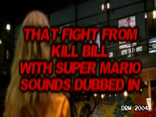 Super Mario Kill bill