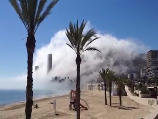 Nebel en Alicante
