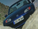 MAZDA MX-5 Generation 3 - Design in blue