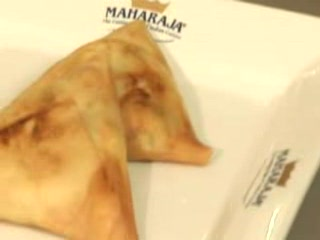 Indian samosas -tapa hindú