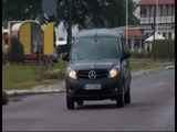 New Mercedes-Benz Citan 2012 driving scenes dark