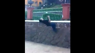 Parkour!!! OUCH